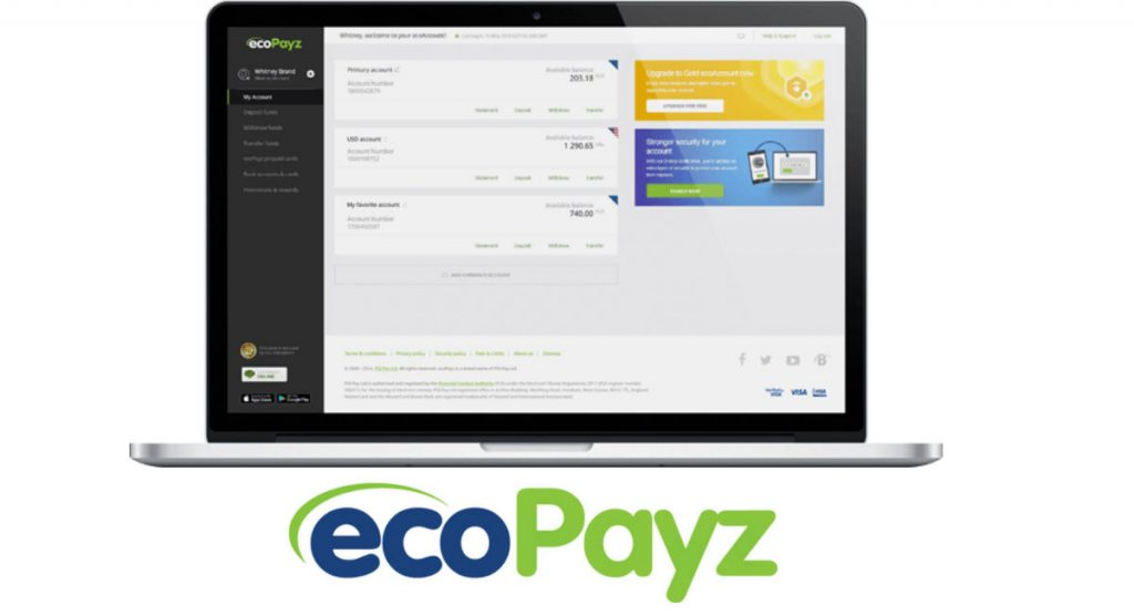 Several UK bookmakers now support ecoPayz
